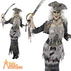 Ghost Ship Ghoulina Zombie Pirate Lady Halloween Costume Womens Fancy Dress