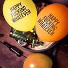 50Pcs Joke Happy Fuxking Whatever Quote Party Latex Birthday Balloons Wholesale