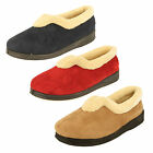 Padders Ladies Slippers in Beige Navy or Red Style - Carmen