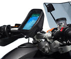 Motorcycle Helix Locking Strap Bike Mount + One Holder for Apple iPhone 6 Plus