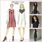 Vogue V9122 Sewing Pattern - Misses Jumper/Dress - Very Easy to Sew