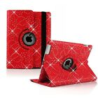 Bling 360° Rotating Smart Stand Case Cover For APPLE iPad2/3/4,Air1/2,Mini4/321
