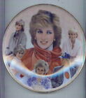 PRINCESS DIANA COLLECTOR PLATES LIMITED EDITION LOT 0F 8 FREE SHIP & TRACKING