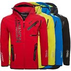 Geographical Norway Herren Outdoor Softshell Funktions Jacke Rainman NEU S-XXL