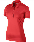 NIKE ICON SWOOSH TECH 586854 WOMEN'S GOLF POLO (MSRP $65) Colors & Sizes