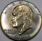 1978-D Eisenhower Dollar Monster Gem BU MS+++.... with Superb Album Rim Toning!!