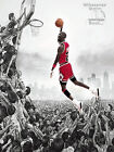 Michael Jordan Poster Print Quote Picture Wall Art Life Gift - All Sizes +