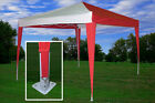 10' x 10' Pop Up Canopy Party Tent EZ CS N - 5 Colors Available