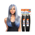 """Model Model CLEAN 100% Human Hair Natural Straight Extension Weave Hair 18""""-26"""""""