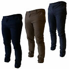 Bakers Mens Casual Chinos Cargo Pants Work Combat Trousers 30 32 34 36 38 40