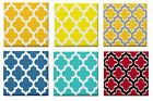GEOMETRIC MOROCCAN PATTERN CERAMIC WALL TILE/TABLE COASTER~MOSAIC~NEW~HOME DECOR