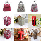 Mini Metal Storage Box Candy Trinket Jewelry Tea Coin Buttons Square Case Box