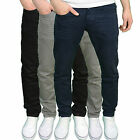 Crosshatch Mens Designer Branded Slim Fit Chinos, Available in 3 Colours BNWT