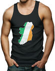 Ireland Irish Flag Map Men's Tank Top T-shirt