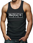 Bacon Periodic Table - Funny Men's Tank Top T-shirt