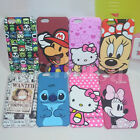 Cute Stitch & Minnie Mouse Cartoon Plastic Hard Back Case Cover For iPhone 6/6S