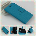 For BLU Studio G D790U / D790L PERFECT FIT Luxury Leather Wallet Case Cover
