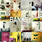 Banksy Wall Stickers - Home Art Decor - Self Adhesive Vinyl Transfer / Decal 2