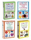 MY FIRST Touch & Feel PICTURE CARDS Choice FARM, NUMBERS, SHAPES, THINGS THAT GO