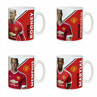 Personalised Manchester Man United Player Signature Signed Autograph Mug
