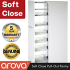 Pull Out Pantry Soft Close Unit Wire Chrome Basket Kitchen 2200mm Tray New