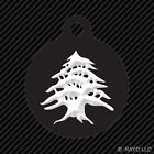 how many lights for a 6ft tree - Cedar Tree Keychain Round with Tab dog engraved many colors Lebanon Lebanese
