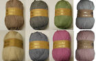 Woolcraft Luxury Soft Chunky with Alpaca 100g