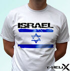 Israel flag - white t shirt top country design - mens womens kids & baby sizes image