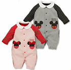 Baby Boy Girl Clothes Ropa Minnie Mickey Newborn Romper Playsuit Jumpsuit Outfit