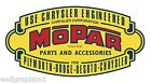 Vintage MOPAR Parts & Accessories Garage Wall Graphic Decal Sticker Poster Cling