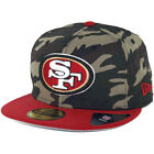 New Era Rip Right San Francisco 49ers Hat (Camo/Navy) Men's 5950 Fitted Cap