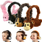Fluffy Animal Kids 3.5mm Fun Headphones for Tesco Hudl 1 / 2 Tablet