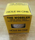 Hole In One The Wobbler Trick Golf Ball - Never Goes Straight!
