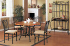 Dining chairs metal  4 piece or 6 piece set