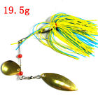 Lot 6PcsMixed Color Spinner Fishing Lures Bass CrankBait Crank Bait Tackle Hook