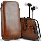 Pull Tab Phone Pouch Case+In Ear Headphones Headset?Samsung Z3