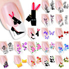 Animal Cartoon Butterfly Nail Art Transfer Decal Sticker DIY Manicure Decoration