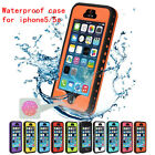 For iPhone 5 5S SE Waterproof ShockProof Touch ID Fingerprint Scanner Case Cover