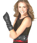 30cm(11.8 inches)Women's 100% Real Leather Opera Evening Gloves / Party Gloves