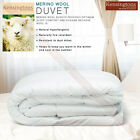 400T/C Pure Natural Merino Wool Fiber Egyptian Cotton Cover Luxury Duvets