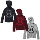 UNDER ARMOUR JUNIOR TECH HOODIE - NEW UA KIDS PULLOVER HOODY SWEATSHIRT TOP