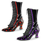 Victorian Santa Elf boots Purple or Red SEXY Fancy Dress NEW Boxed UK size 3-9