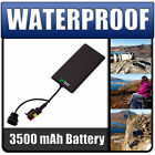 Ultimate Addons Waterproof 3500mAh Battery Power Charger Pack for Various Phones