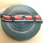 "1"" New England Patriots Helmet Stripe Grosgrain Ribbon by the Yard (USA SELLER) $4.85 USD on eBay"