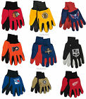 NHL Licensed Two-Tone Adult Sports Utility All-Purpose Gloves Pick Your Team!