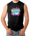 Colorful Boombox Men's SLEEVELESS T-shirt