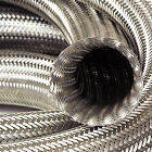 Auto Silicone Hoses Stainless Steel Overbraid