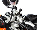 Motorcycle Strong U-Bolt Bike Metal Mount + One Holder for Samsung Galaxy S4