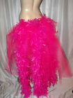 Big Pink Flamingo Bustle Belt & Feathers Burlesque  Carnival Pride Hen night