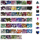 OR12-A 1000Pcs /10000Pcs Ordinary Flat Acrylic Rhinestone-3mm AB Raindrop